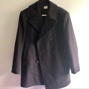 Black - Navy - pea coat 40R